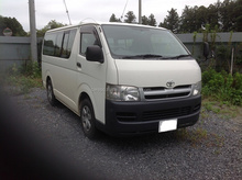LESS MILEAGE USED CARS PRICES IN JAPAN FOR TOYOTA HIACE VAN CBF-TRH200V