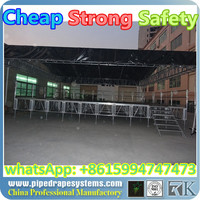 outdoor lighting led round canopy with aluminum truss