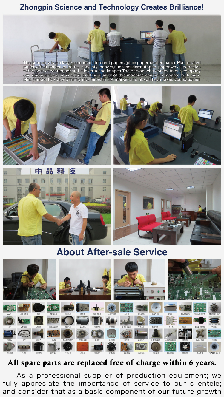 cheap A3 A4 digital fast color magazine book sticker printing in China