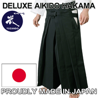 Traditional and Top Quality Aikido Hakama with Original functions made in Japan, great for trading business ideas