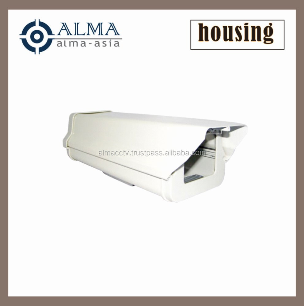 CCTV housing with heater and blower