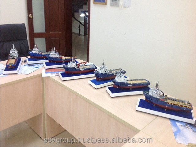 BEST GRIFT PTSC'S FLEET- Wooden ship modelMade in Viet Nam