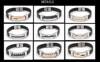High quality couple jewelry bracelet anti-scratch paypal accepted stainless steel jewelry