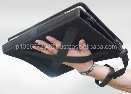 Functional tablet case with handle grip at cost-effective