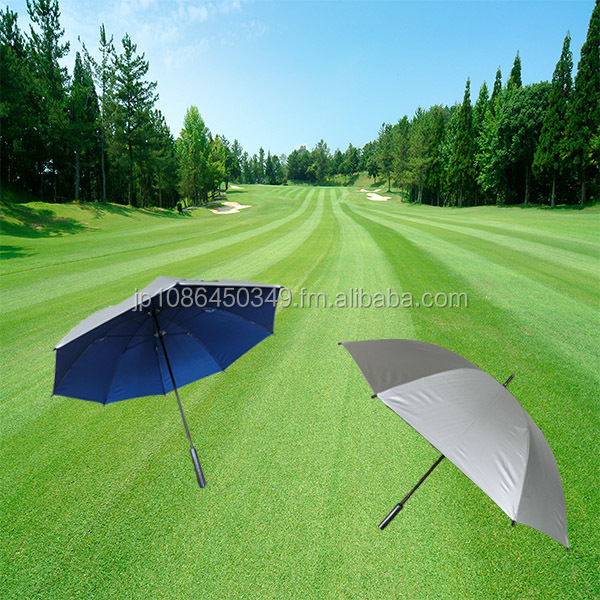Chinese-made, Golf course lending umbrellas, Silver umbrellas, Nylon combination umbrellas