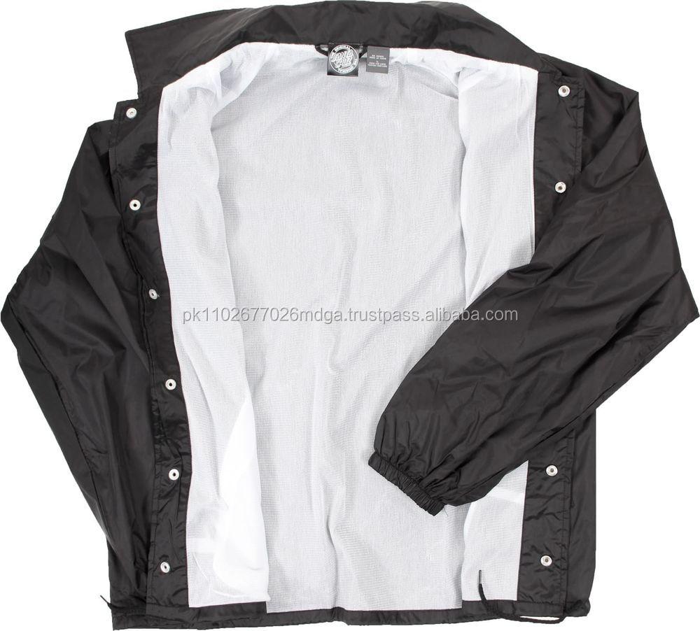 Jackets Lined Nylon Jacket