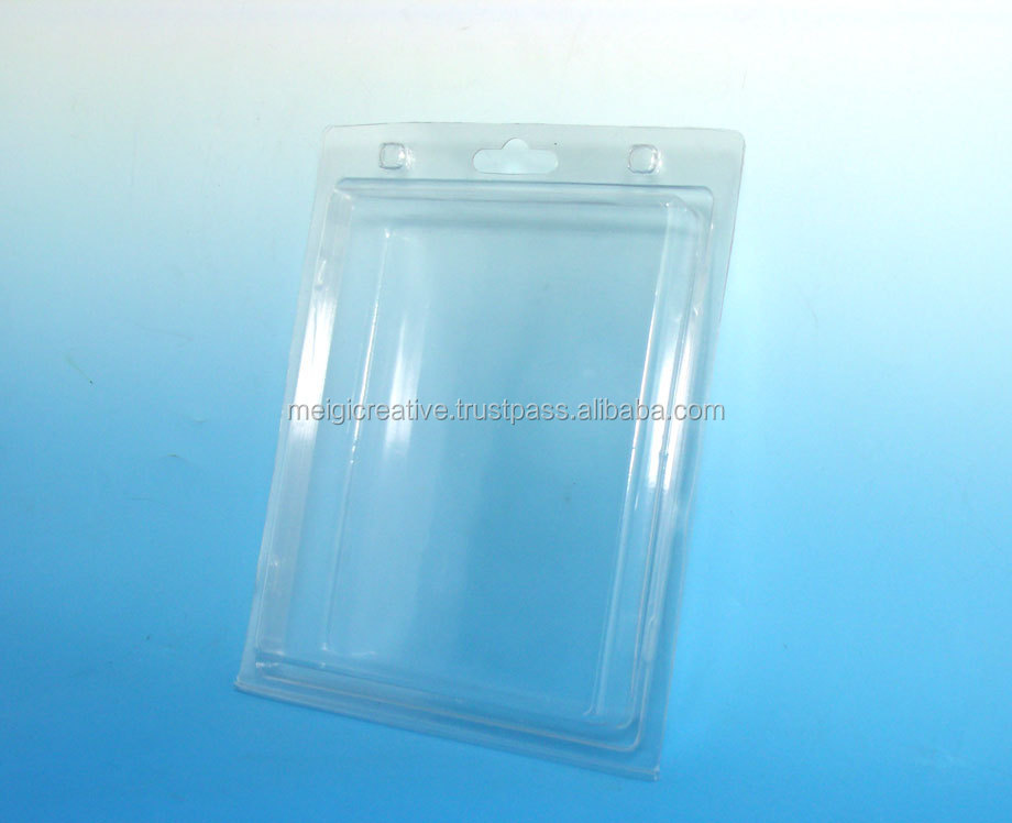 Retail Plastic Clamshell Packaging with Hanging Hole
