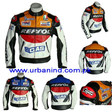 Repsol Motorcycle Racing Leather Jacket, Genuine Leather Motorbike/Motorcycle/Biker Leather Jackets, Motorbike Leather Jacket
