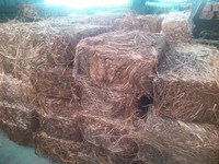 Copper wire Scrap 99.9% (Germany) ready for exportation