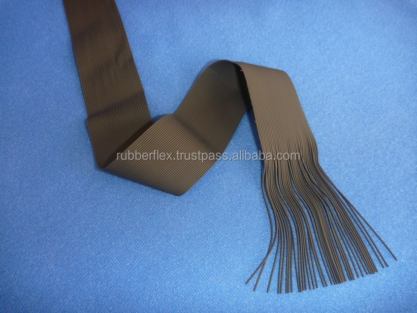 LATEX RUBBER YARN SILICONE COATED