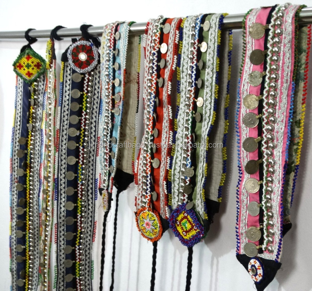 Antique Gypsy Belts Vintage Banjara Belts Hippie Belly Dance Belts