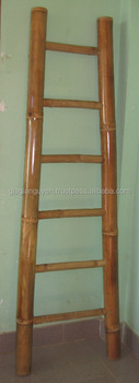 100% Natural bamboo ladder - very cheap