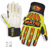 SKATIQ COTTON PALM OIL AND GAS IMPACT SAFETY GLOVES