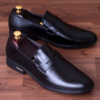 TACS007 high class genuine cow leather men loafer shoes