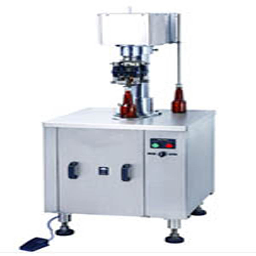Semi Automatic ROPP Cap Sealing Machine Single Head