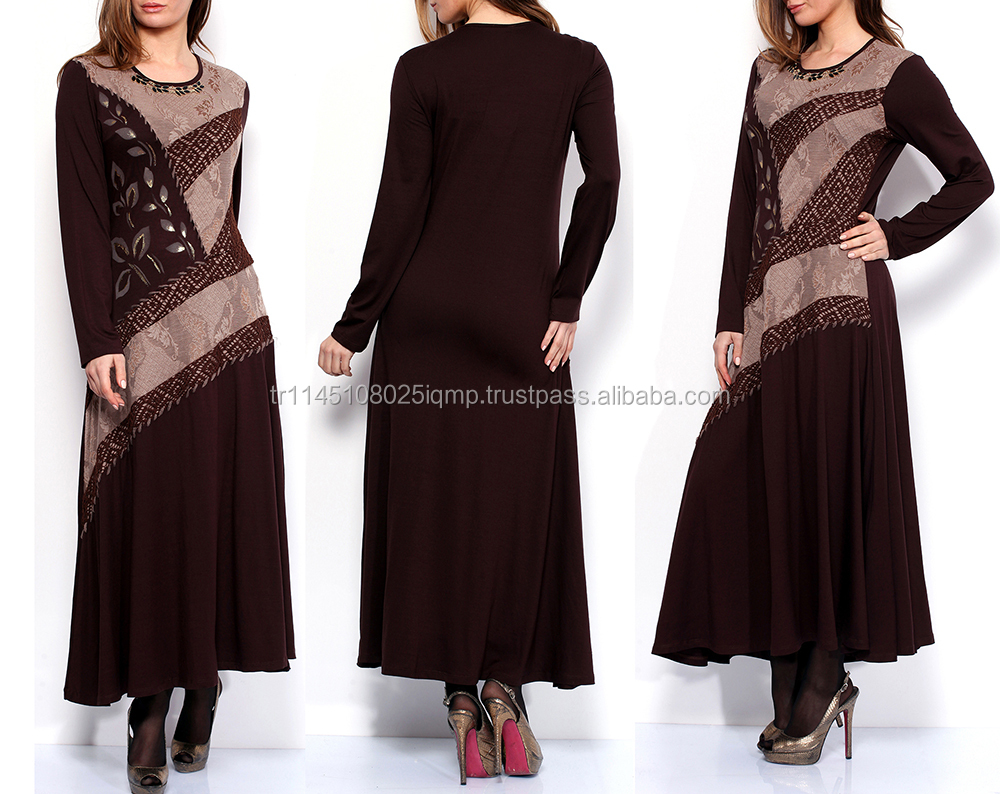 High quality plus size women clothing fashion dress KF14276