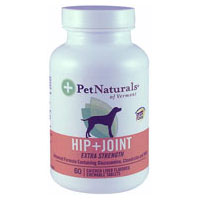 Hip & Joint, Extra Strength 120 Tabs by Pet Naturals of Vermont