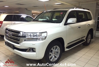 2016 TOYOTA LC200 4.5L DIESEL LUXURY 7 SEATS + SAFETY PACKAGE - IN STOCK