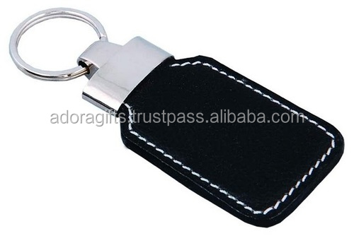 Personalized Modern Leather Key Chain / car leather key chain