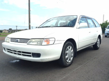 CHEAP USED CAR IN JAPAN FOR TOYOTA COROLLA WAGON 1999 (ENGINE: 5A, MODEL: GF-AE110G, GRADE: L TOURING LIMITED)