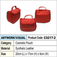 PU Leather Cosmetic pouch