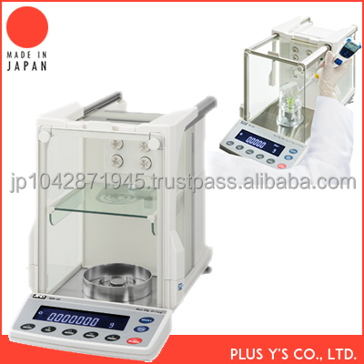 Micro Analytical Balances microbiology laboratory equipment Made in Japan