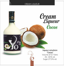 Natural, Cream Liqueur Cocos, Yo brend