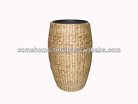 2015 new product: vietnamese square water hyacinth planter/flower pot (CH2043A/1NA)