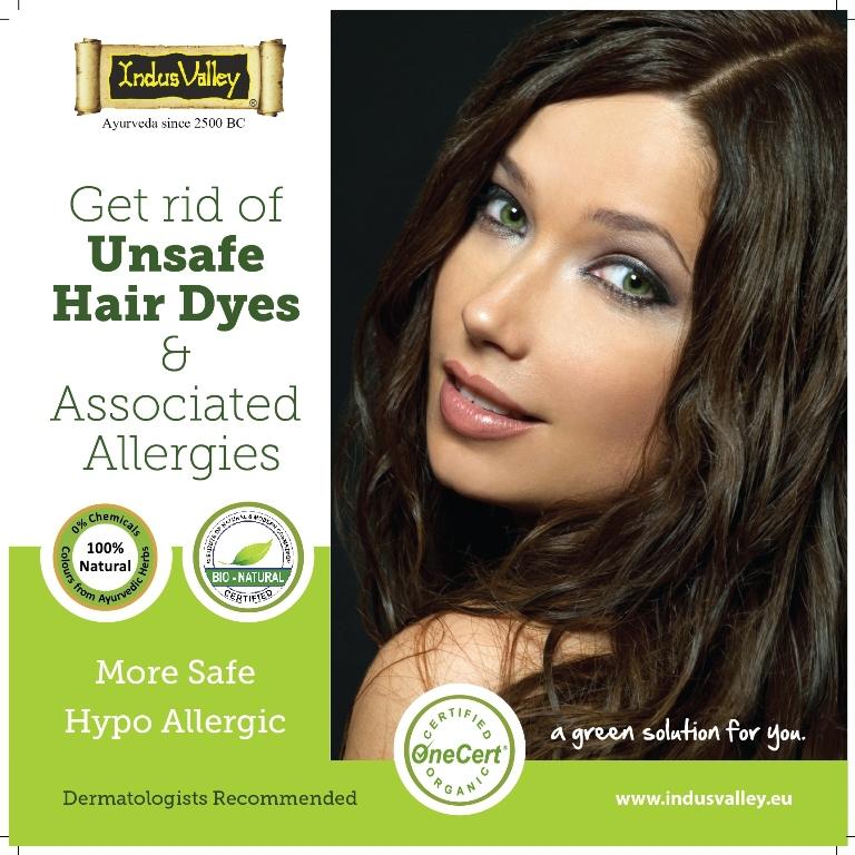 PPD free Non allergic 100% Natural Hair dye Colour - Halal ...