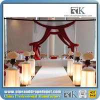 pipe and drape base cart photo booth package/ wedding tent