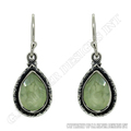 prehnite earrings,silver jewelry manufacturers in jaipur,hot sale cut gemstone earring pair jewellery,silver jewelry supplier