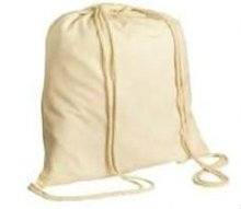 Cotton Drawstring Backpack 2015
