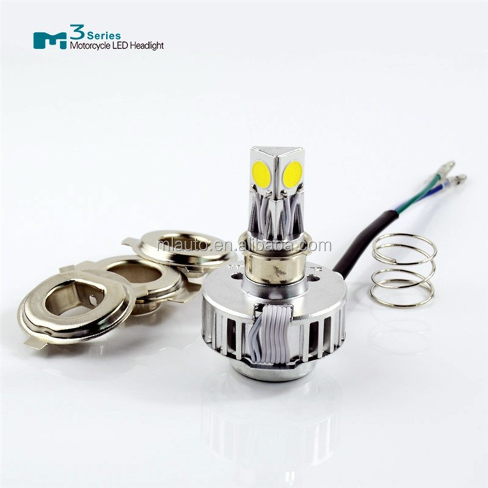 Motor parts led high power lamp M3 hi/lo beam 18W 2000lm led motorcycle headlight