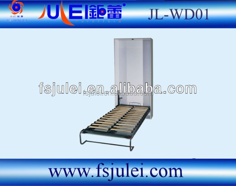 fashional new hidden wall bed in furniture JL-WD01 in manual operate