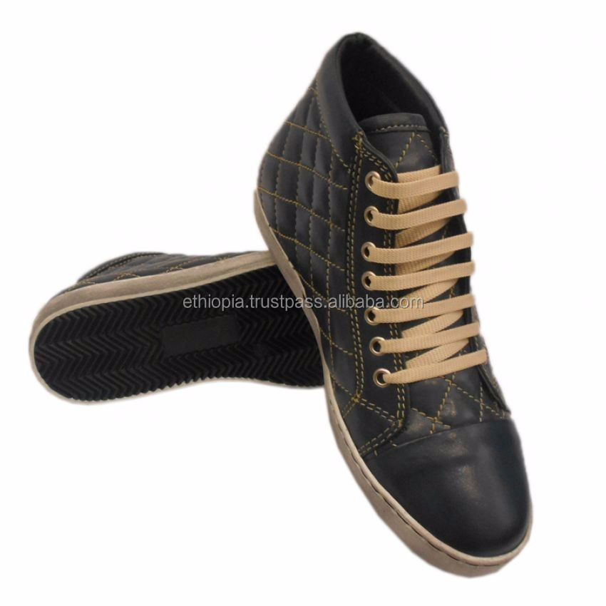 comfortable Fashion Flat shoes men Genuine Leather Unisex Shoes women sneaker