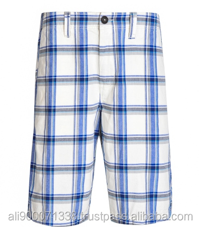 Best selling Men's Check shorts pants