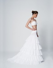 Tailed 6 Layers Tulle Petticoat for Wedding Dresses