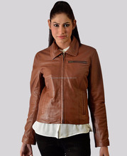 New Women Brown Ladies Fashion Stylish Sexy classic Premium Genuine Leather