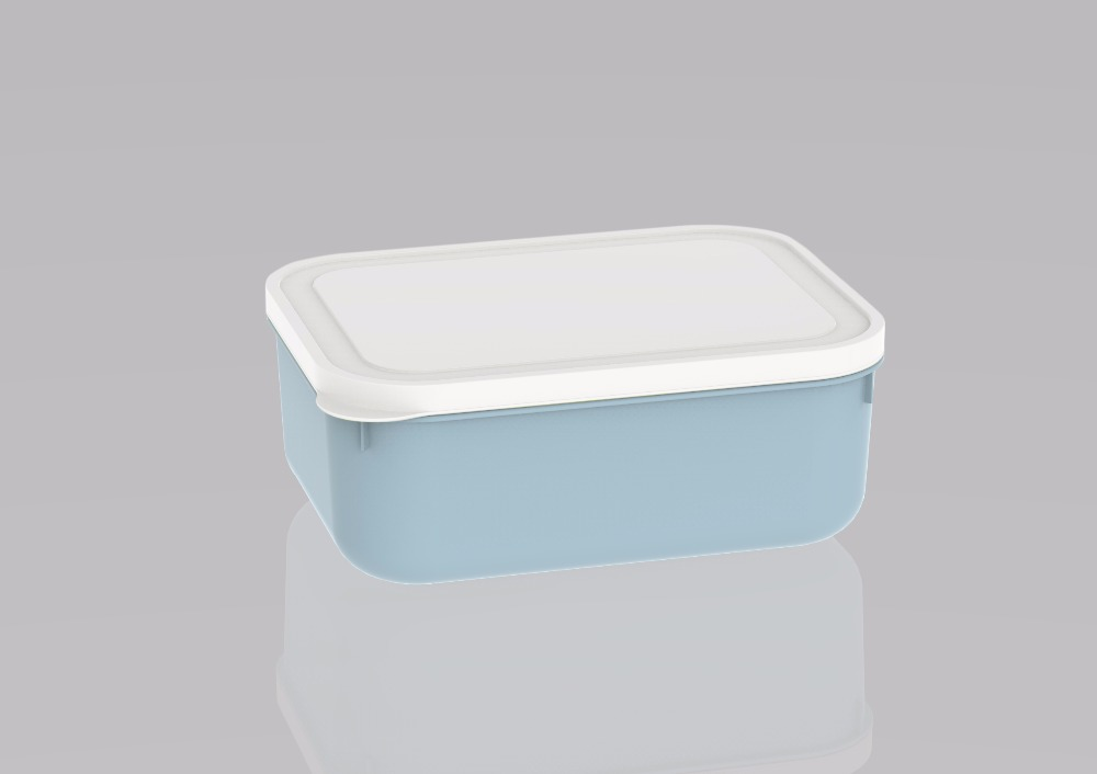 Widely Use High Quality takeaway food container L20403 Medium Blue