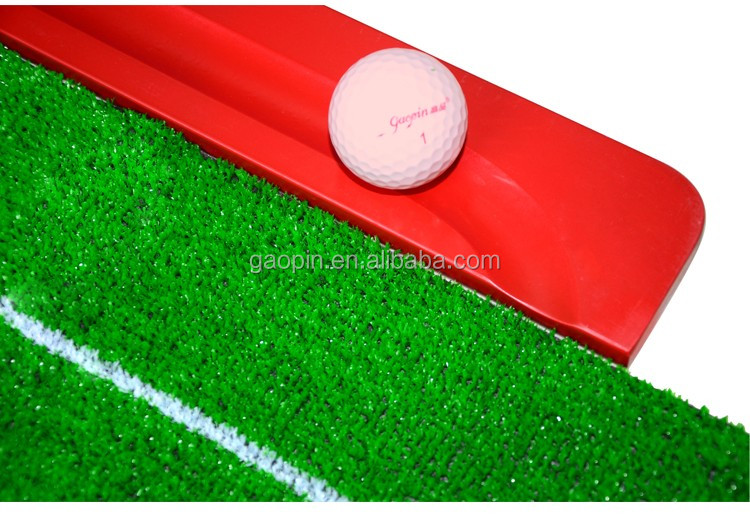 Indoor Wooden Golf putting trainer