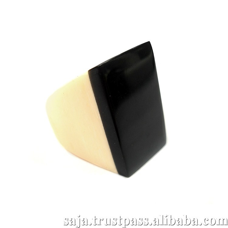 Buffalo horn craft ring SALR009