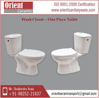 One Piece Wash Down Toilet Water Closet (WC)
