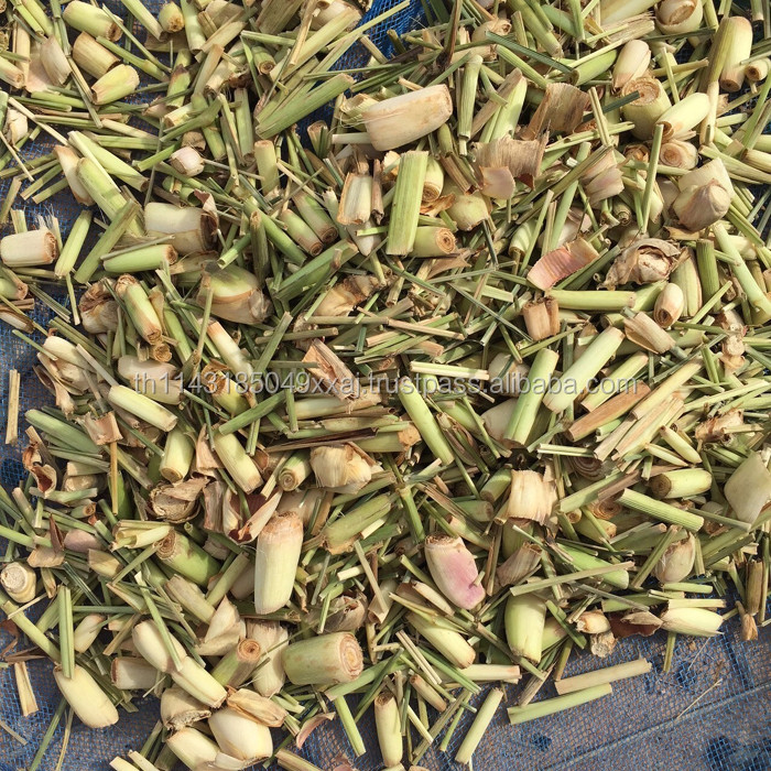 Dried lemon grass herbal product thai herbal medicine
