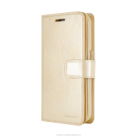 PU leather diary phone case Mercury Mansoor Diary (Gold)