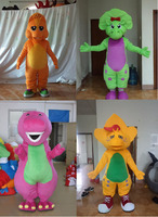 Barney And Friends Plush Fur Mascot Costume Party Costume