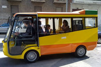 smart electric car, electric mini bus