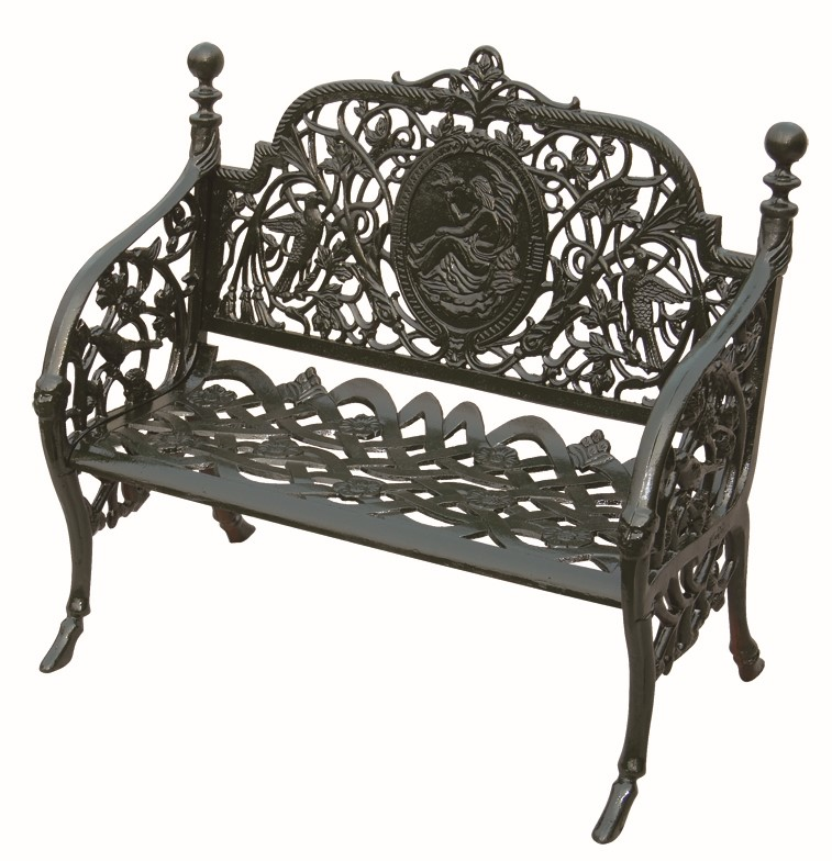 Trade assurance garden furniture outdoor bench antique Cast iron garden furniture