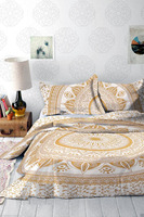 Indian Mandala Printed Home Single Twin Size Bedding Set Pillowcase Duvet Cover Set