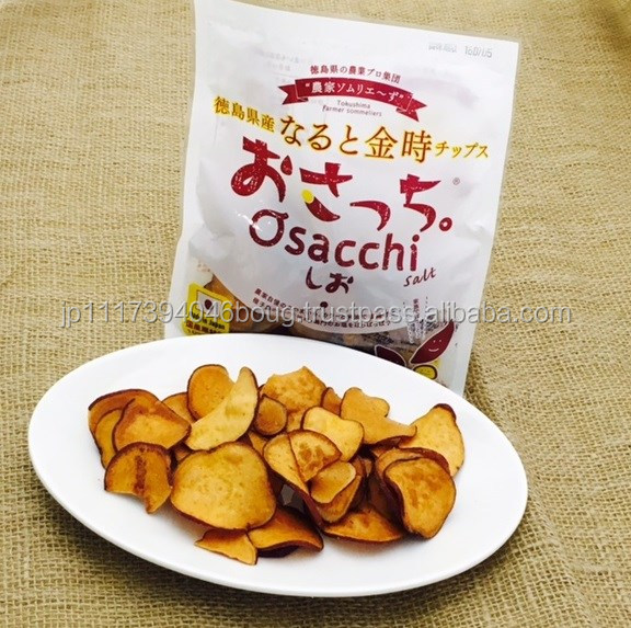 Salty potato sack vegetable chips , spicy snacks also available