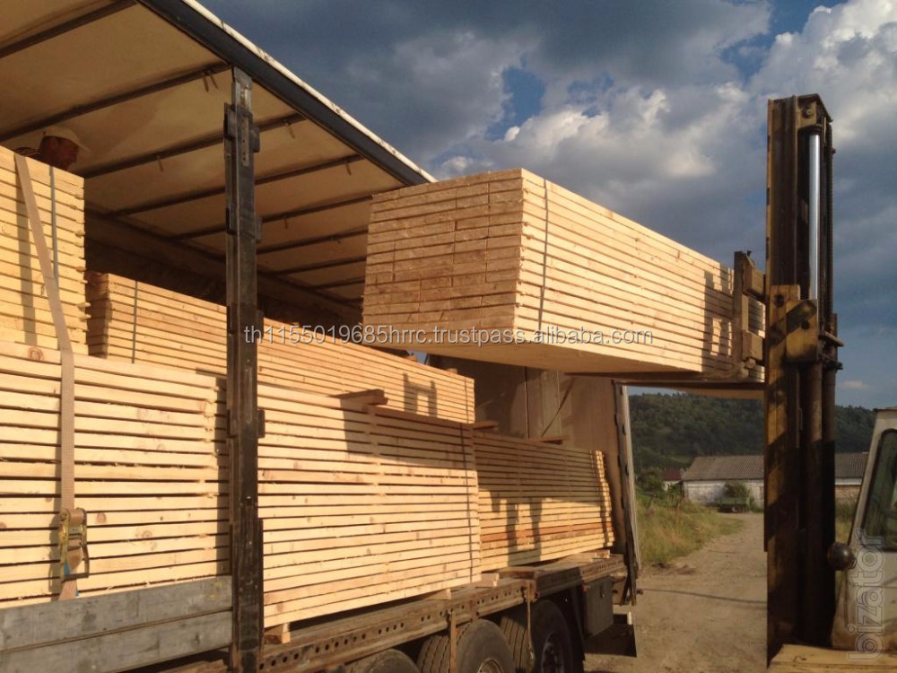 Russian Spruce: fine grain lumber, small knots